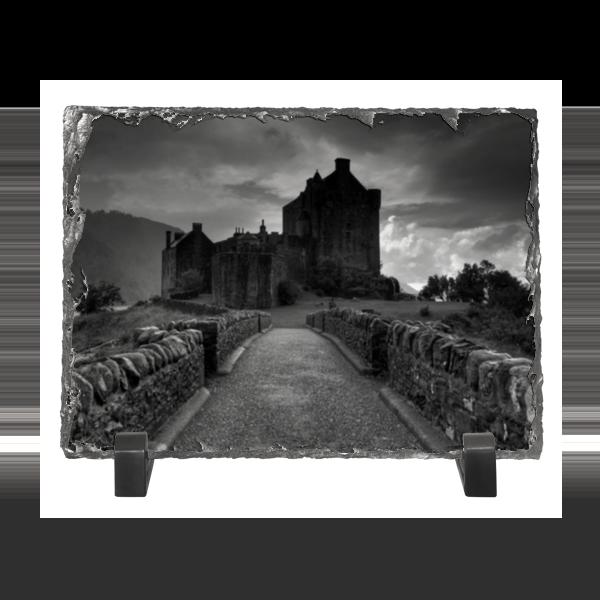 Каменная рамка Printio Старый замок