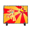 "Каменная рамка ""Sunset Shimmer Color Line"" - sun, cutiemark, sunset shimmer"