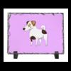 """Каменная рамка """"ДЖЕК РАССЕЛ.СОБАКА"""" - майкл джексон, щенок, собака, животное, рассел"""