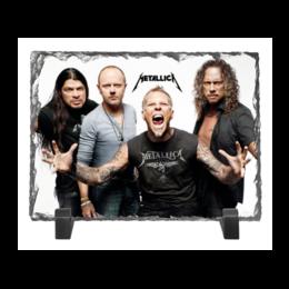 "Каменная рамка ""Metallica"" - metallica, металлика"