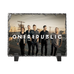 "Каменная рамка ""OneRepublic"" - onerepublic"