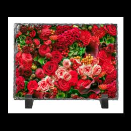 """Каменная рамка """"Розалий"""" - розы, цветы"""