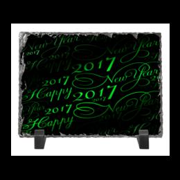 """Каменная рамка """"New Year 2017"""" - happy new year, новый год, new year, 2017, new year 2017"""