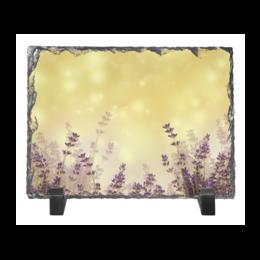 """Каменная рамка """"Летний вечер в поле"""" - цветы, весна, лето, весенние принты, природа"""