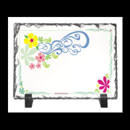 """Каменная рамка """"рама в раме"""" - купить, фоторамку, в цветах, с рисунком, с узором"""