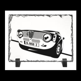 "Каменная рамка ""Retro Alfa Romeo Racing"" - ретро, авто, машина, гонки, alfa romeo"