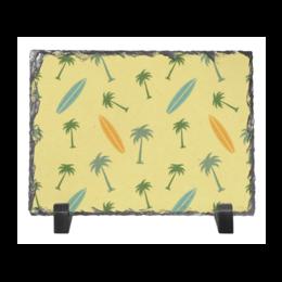 """Каменная рамка """"Гавайка"""" - море, отдых, песок, серфинг, пальмы"""