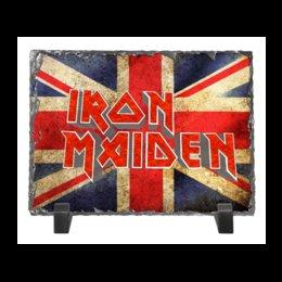 """Каменная рамка """"Iron Maiden"""" - heavy metal, рок музыка, рок группа, iron maiden, айрон мэйден"""