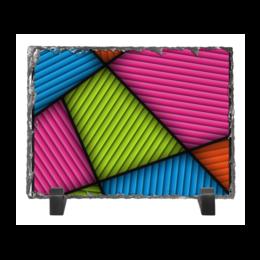 """Каменная рамка """"Цветная абстракция"""" - абстракция, абстрактный, узор, рисунок, стиль"""
