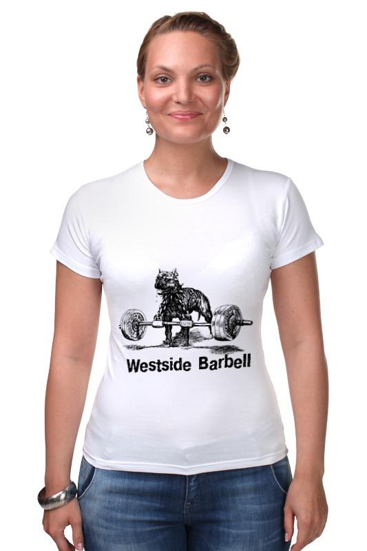 все цены на Футболка Стрэйч Printio Westside barbell hoodie в интернете