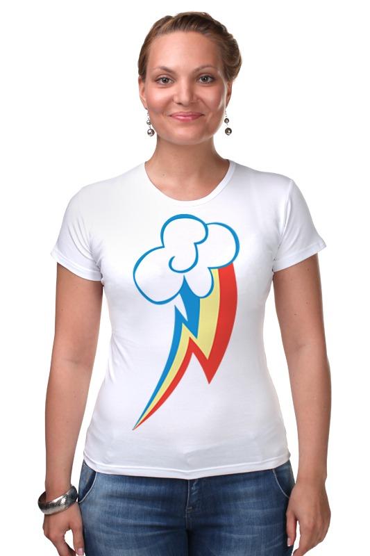 Футболка Стрэйч Printio Rainbow dash / рейнбоу дэш футболка стрэйч printio rainbow dash рейнбоу дэш