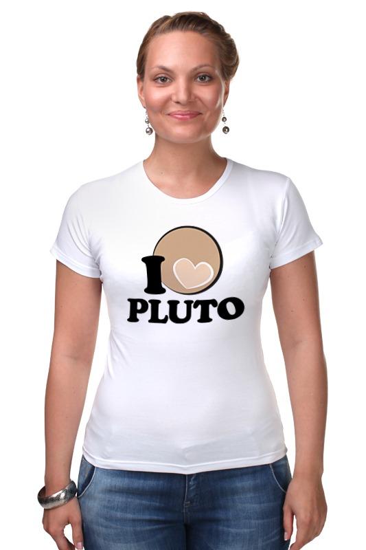 Футболка Стрэйч Printio Плутон (pluto) планета на которой убивают
