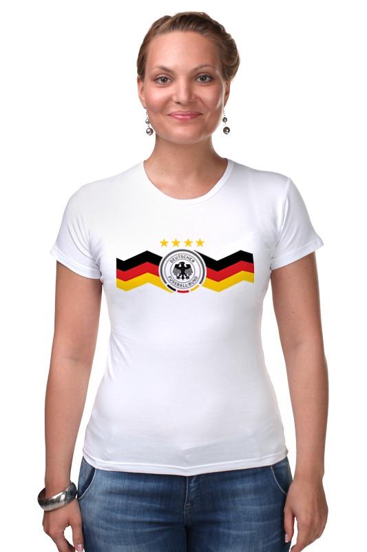 Футболка Стрэйч Printio Сборная германии футболка стрэйч printio с пробегом по германии
