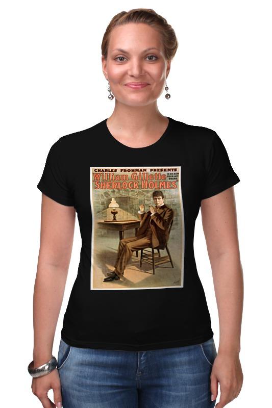 Футболка Стрэйч Printio Афиша спектакля шерлок холмс, 1900 г. футболка стрэйч printio доктор кто х шерлок холмс