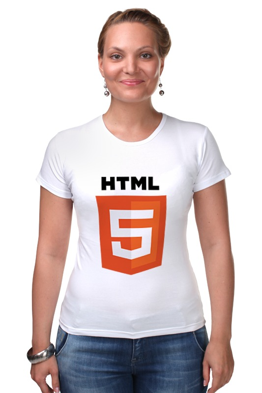 Футболка Стрэйч Printio Html 5 ru index html
