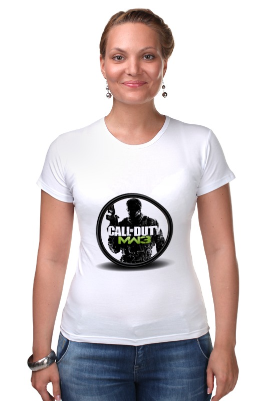 Футболка Стрэйч Printio Call of duty футболка для беременных printio череп call of duty