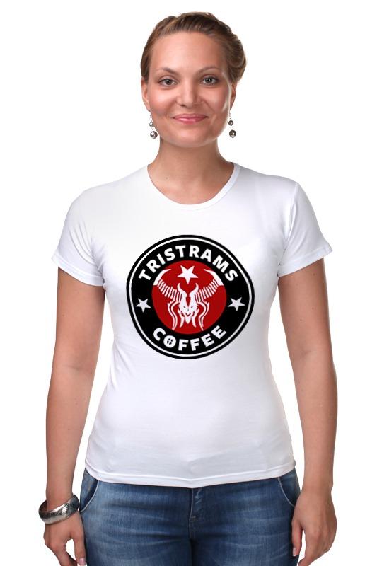 Футболка Стрэйч Printio Tristrams coffee (diablo) diablo 3 лицензионный диск в минске