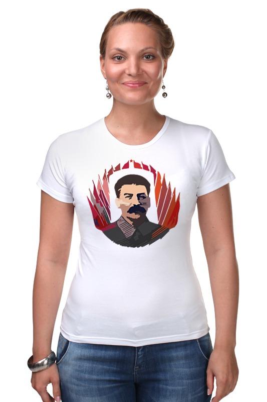 Футболка Стрэйч Printio Сталин футболка стрэйч printio 62 2% в саратове
