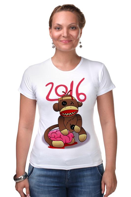 Футболка Стрэйч Printio Год обезьяны футболка рингер printio обезьяны
