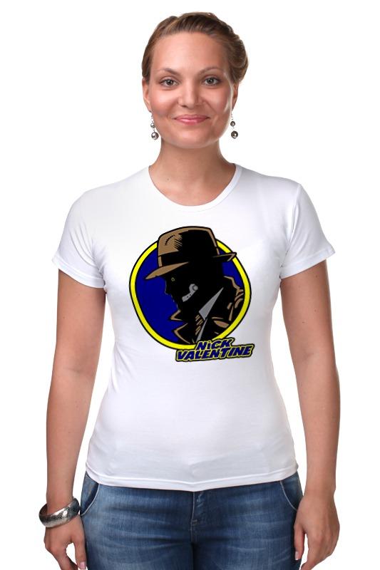 Футболка Стрэйч Printio Ник валентайн (фэллаут) футболка классическая printio fallout фэллаут