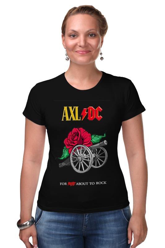 Футболка Стрэйч Printio Ac/dc & axl rose мультиметр uyigao ac dc ua18