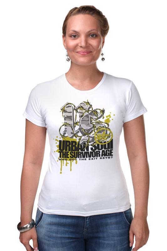 Футболка Стрэйч Printio Urban soul футболка стрэйч printio urban environment arsb