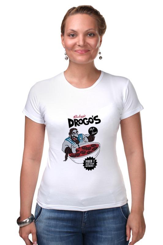 Футболка Стрэйч Printio Игра престолов drogos футболка wearcraft premium printio игра престолов