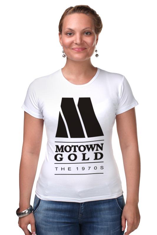 Футболка Стрэйч Printio Motown