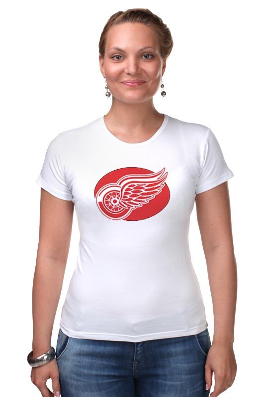 Футболка Стрэйч Printio Detroit red wings / nhl usa сумка на ремне nhl red wings цвет черный 3 5 л 58017