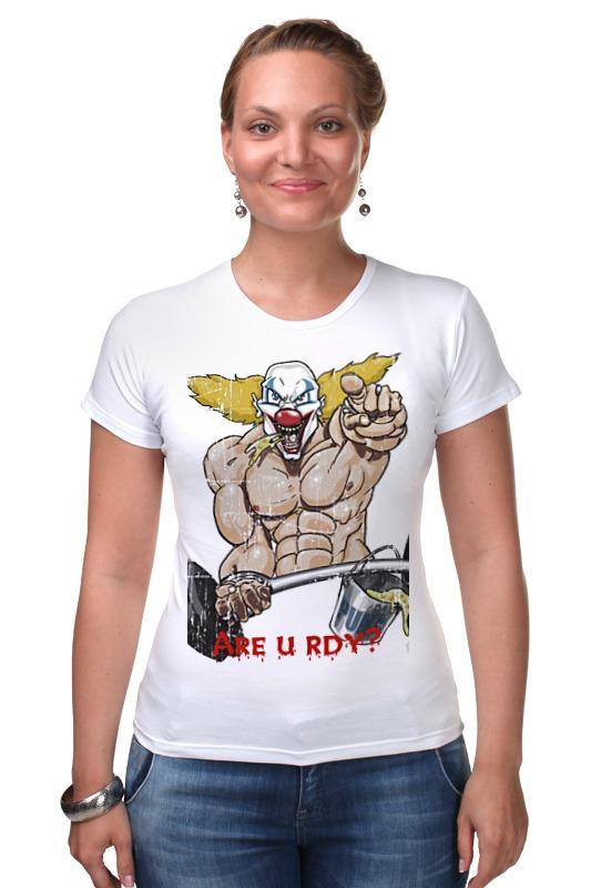 Футболка Стрэйч Printio Clown the pukie футболка стрэйч printio властелин колец lord of the ring