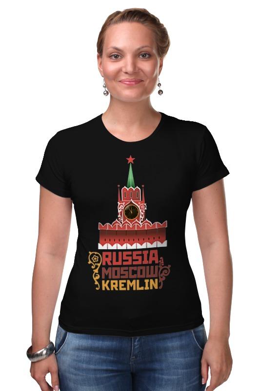 Футболка Стрэйч Printio Москва, кремль (россия) россия шк кремль дмитриев