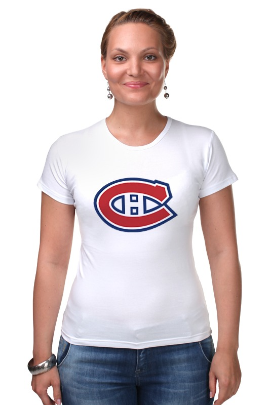 Футболка Стрэйч Printio Montreal canadiens / nhl canada одежда для занятий хоккеем reebok 10 montreal canadiens 10 lafleur 2014 hoodie nhl