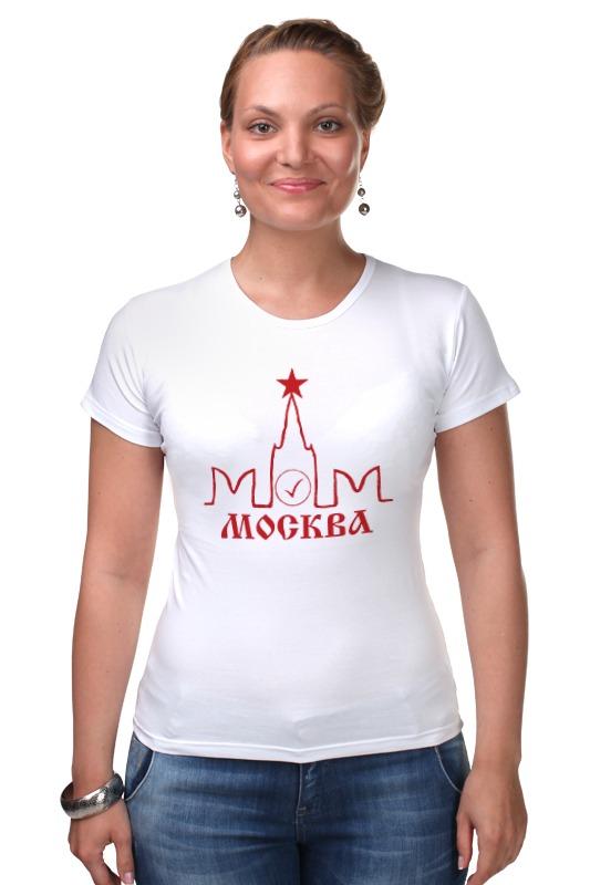 Футболка Стрэйч Printio Москва элитная трехкомнатная квартира москва купить