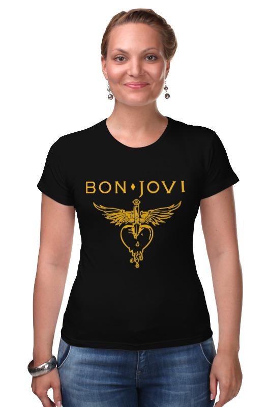 Футболка Стрэйч Printio Bon jovi купить футбольную форму челси торрес