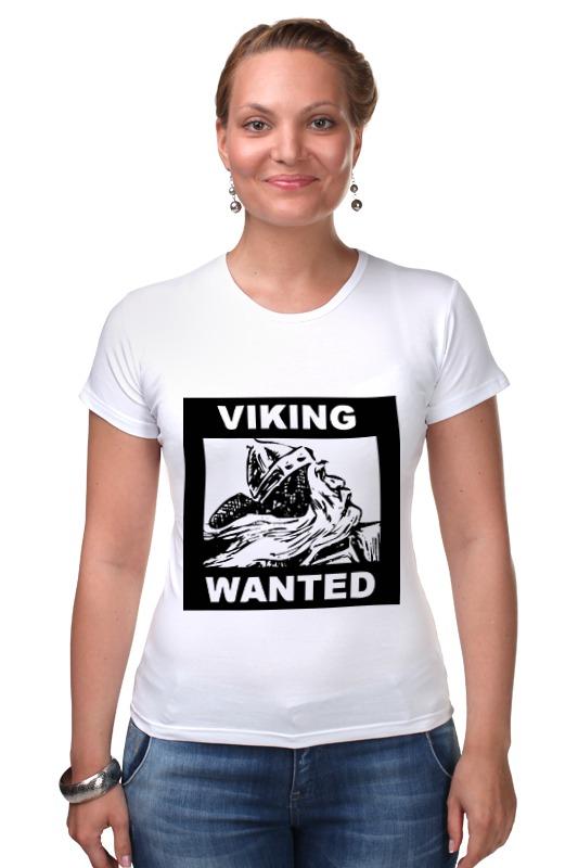 Футболка Стрэйч Printio Ищем викинга! топор викинга в подарок