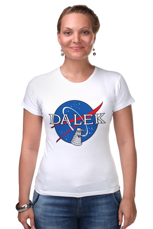 Футболка Стрэйч Printio Далеки (доктор кто) футболка рингер printio доктор кто doctor who