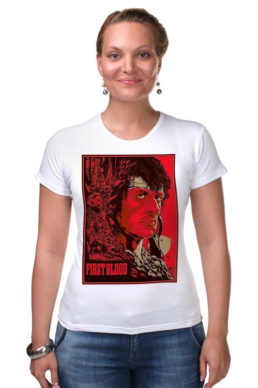 Футболка Стрэйч Printio Sylvester stallone / first blood футболка стрэйч printio first blood  dota 2