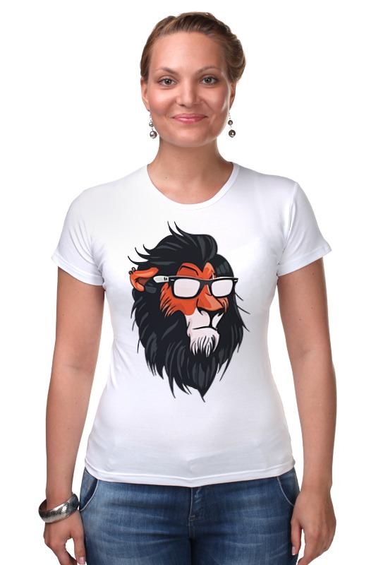 Футболка Стрэйч Printio Шрам (король лев) футболка рингер printio король лев