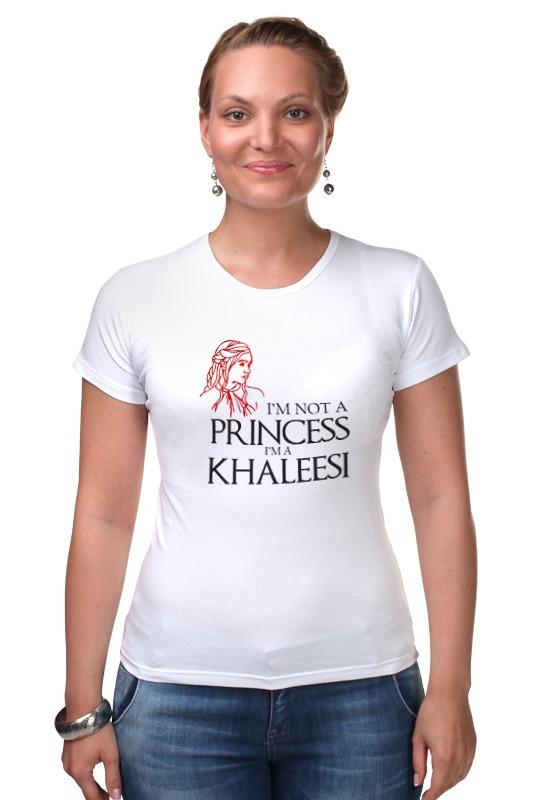 Футболка Стрэйч Printio Игра престолов (game of thrones) khaleesi a game of thrones
