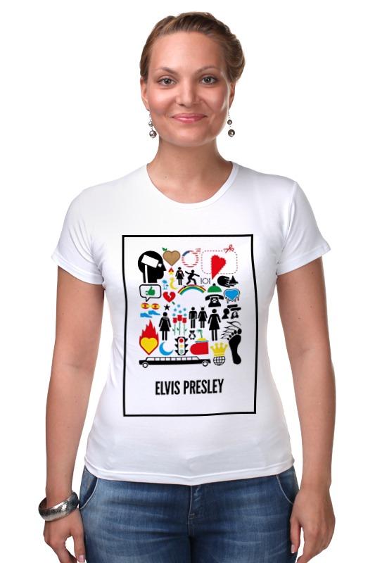 Футболка Стрэйч Printio Elvis presley футболка рингер printio elvis presley