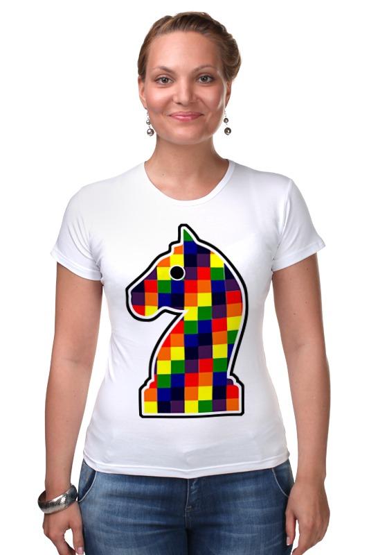 Футболка Стрэйч Printio Конь (шахматы) какой фирмы лучше фигурные конь