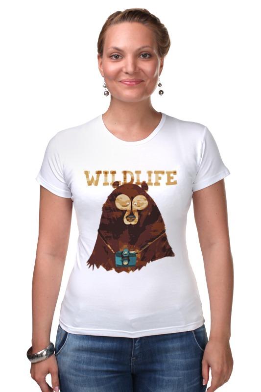 Футболка Стрэйч Printio Wildlife 35 33
