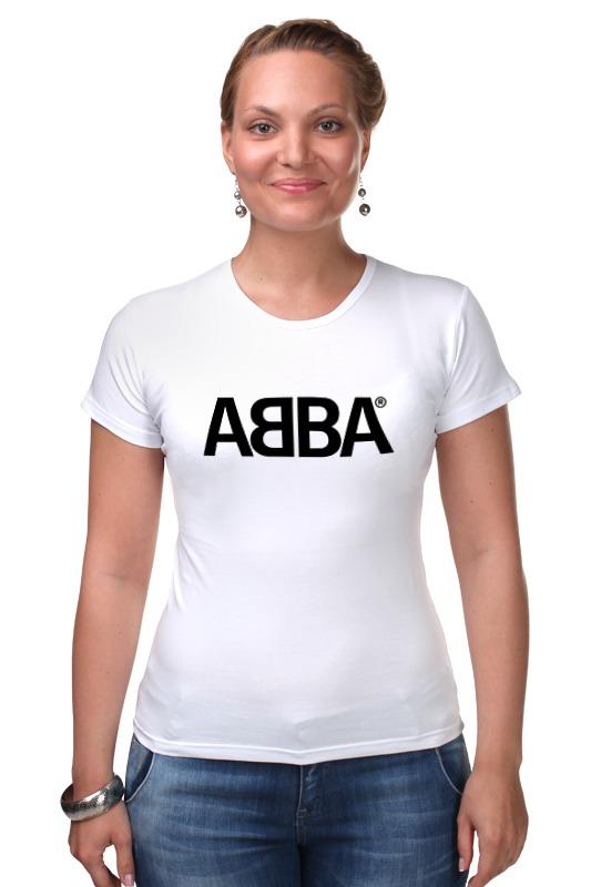 Футболка Стрэйч Printio Группа abba