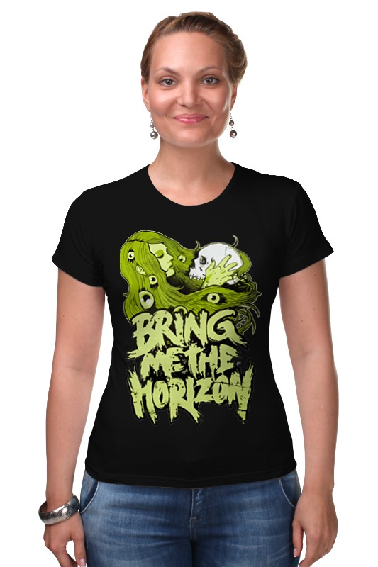 Футболка Стрэйч Printio Bring me the horizon футболка стрэйч printio bring me the horizon змеи