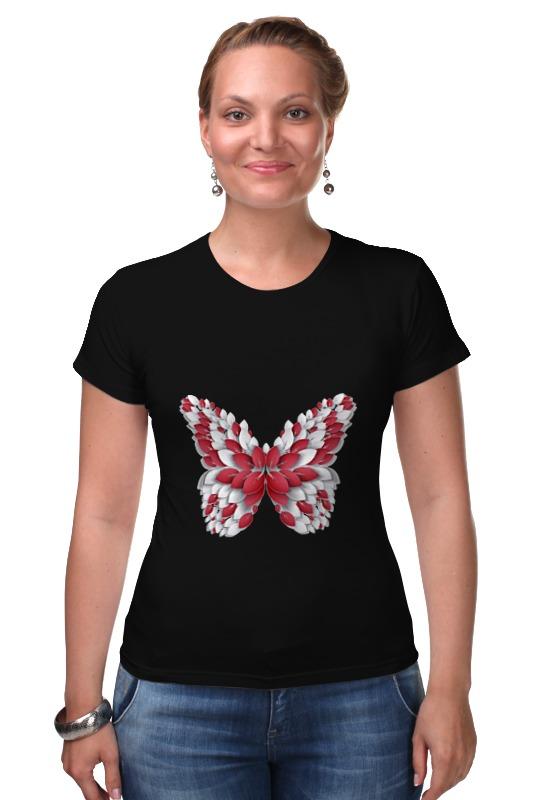 Футболка Стрэйч Printio Бабочка бабочки magnetiq галстук бабочка