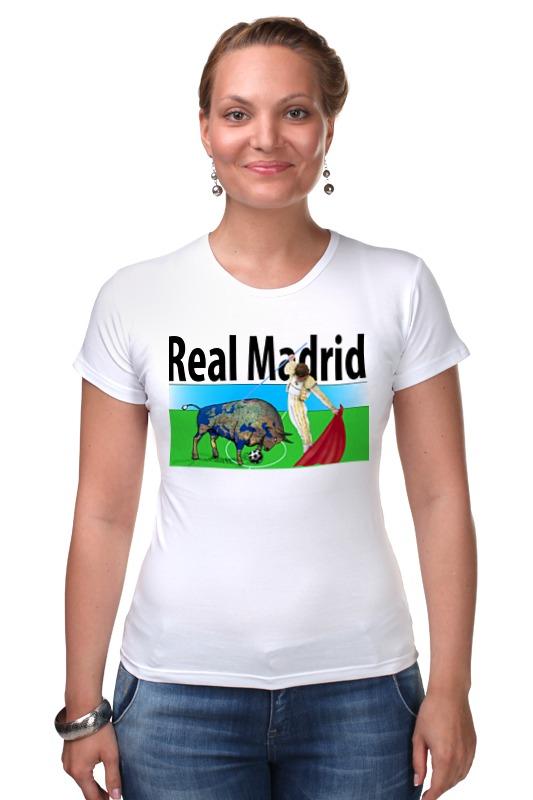 Футболка Стрэйч Printio Real madrid футболка стрэйч printio real madrid реал мадрид