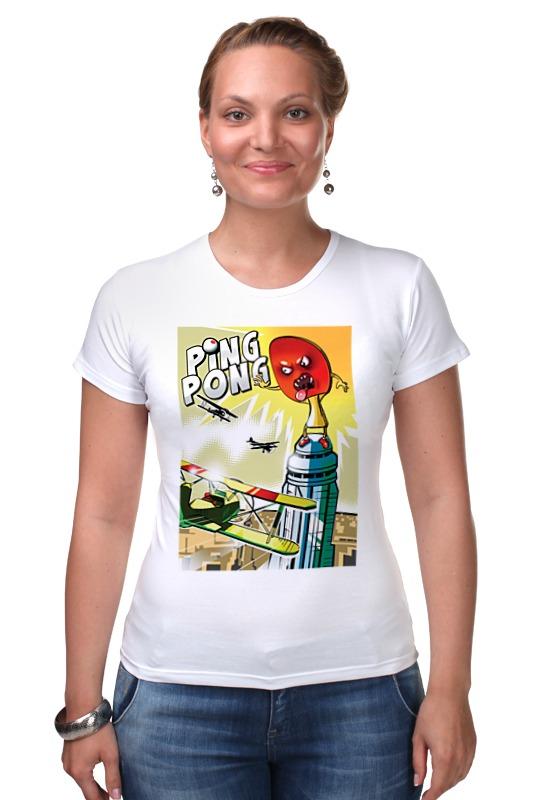 Футболка Стрэйч Printio King pong футболка стрэйч printio делай добро
