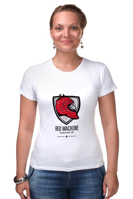 футболка детская красная машина цвет красный 65160072 размер 164 Футболка Стрэйч Printio Красная машина
