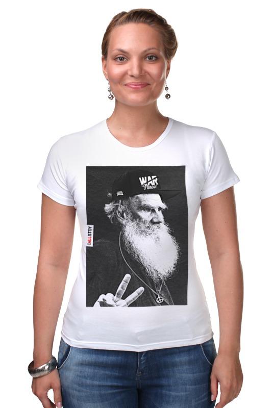 Футболка Стрэйч Printio tolstoy by design ministry футболка рингер printio spb t shirt by design ministry