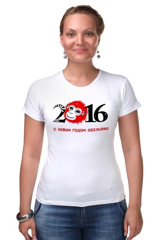 Футболка Стрэйч Printio Новый год(обезьяна) футболка стрэйч printio новый папа 2017 загрузка